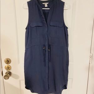Sleeveless dress - Navy
